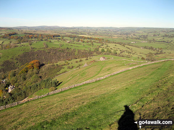 Ecton and the Manifold Way from Ecton Hill