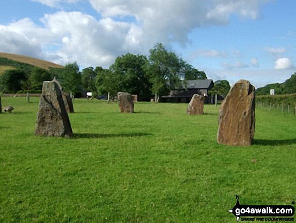 Standing stones at Dan-yr-Ogog, Glyntawe