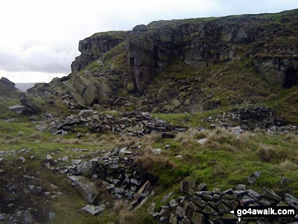 Cracken Edge near Chinley Churn