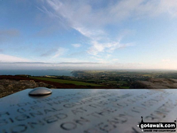 The summit of St Agnes Beacon Home of the Giant Bolster