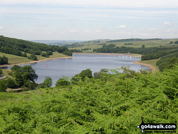 Errwood Reservoir in the Goyt Valley