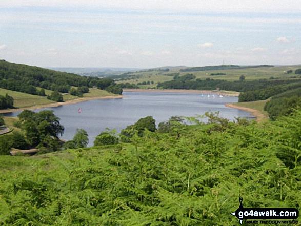 Errwood Reservoir in the Goyt Valley