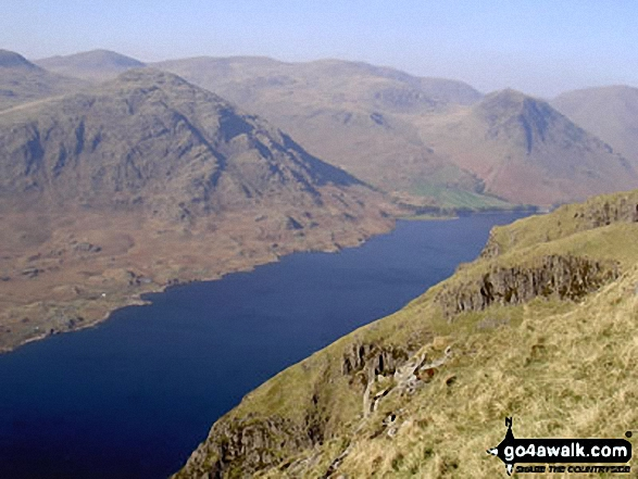 Wast Water from Illgill Head and Whin Rigg