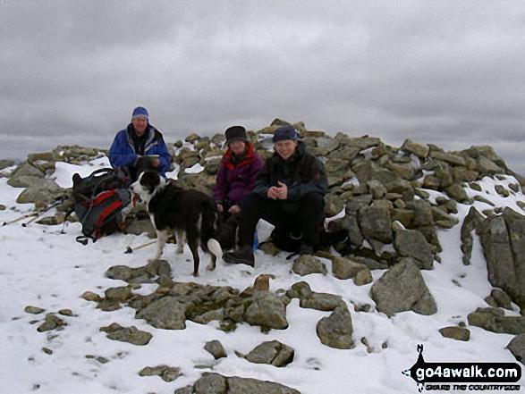 Walk c240 Kirk Fell, Pillar and Little Scoat Fell from Wasdale Head, Wast Water - Pillar Summit