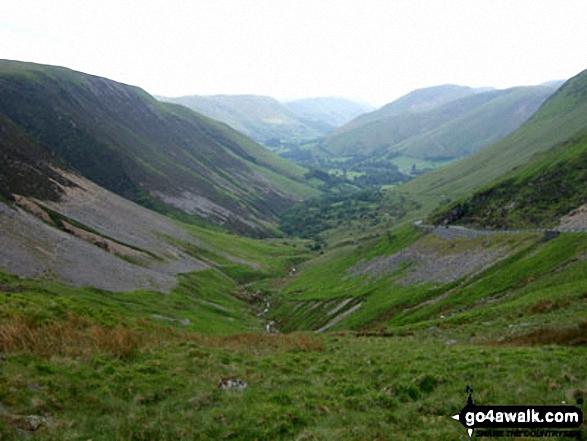 The Afon Dyfi Valley from Bwlch y Groes