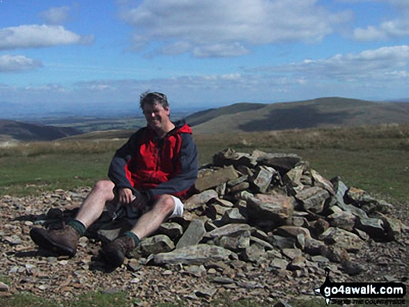 On the summit of Knott (Uldale Fells)