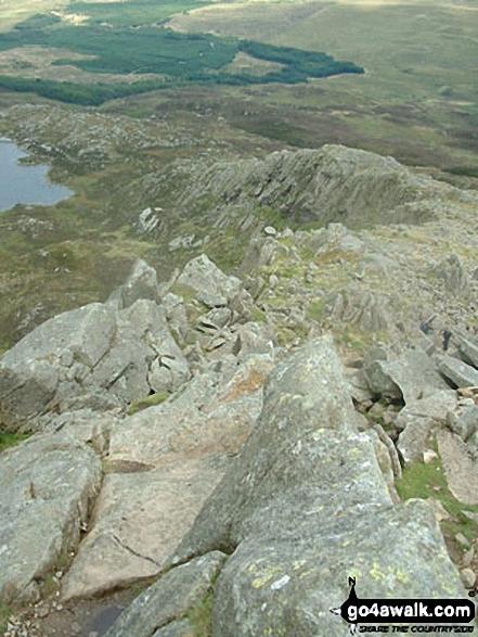 The SE ridge of Carnedd Moel Siabod
