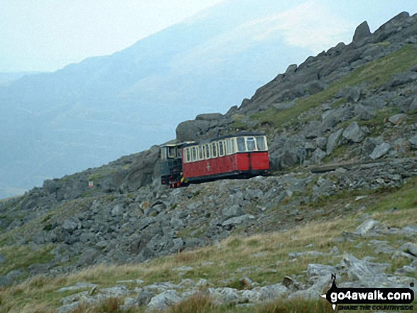 An unscheduled halt on Llechog (Snowdon)
