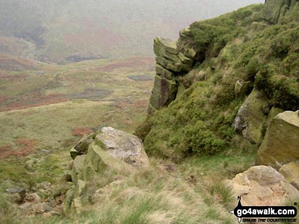 On Black Chew Head (Laddow Rocks)