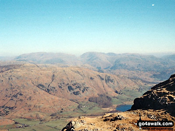 Little Langdale from Wetherlam