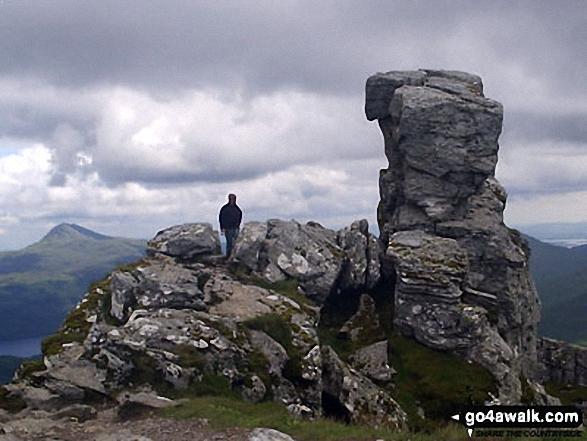 On the summit of The Cobbler (Ben Arthur)