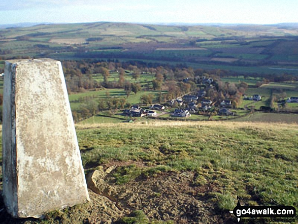 Minto from Minto Hill (Minto Hills) summit trig point