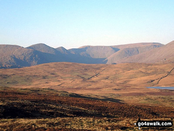 Ill Bell and Froswick from Sleddale Forest
