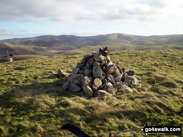 The summit of Humblemoor Hill