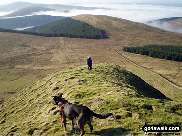Descending Skelfhill Pen, Teviotdale