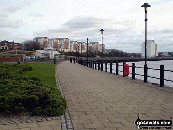 Quayside walk, Newcastle