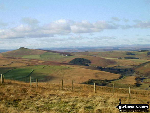 Penchrise Pen from Pike Fell (Teviotdale)