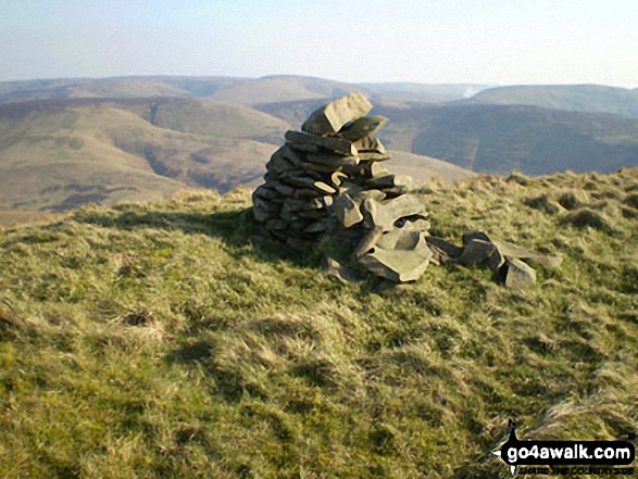 Castlewink summit cairn