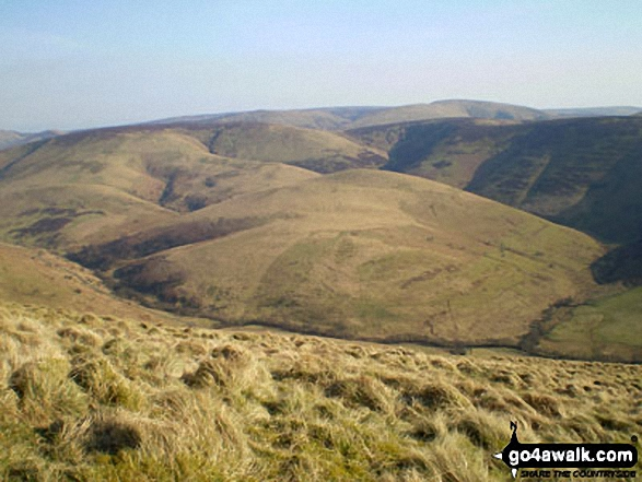 Tamond Heights and Roan Fell from Castlewink
