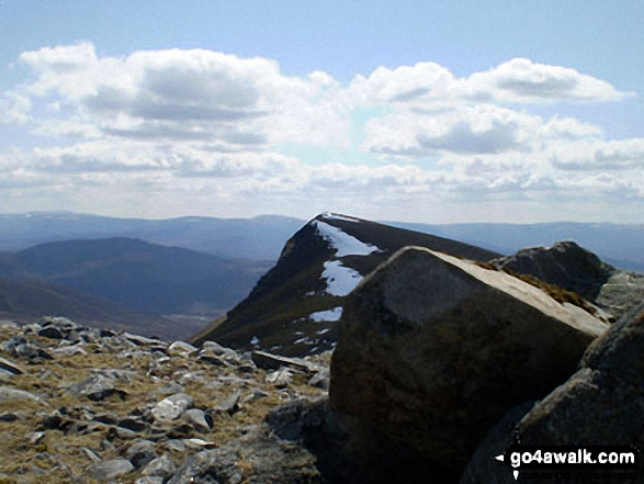 The summit of Creag Meagaidh,  the highest point in Glen Roy to Monadhliath Photo: Mike Knipe