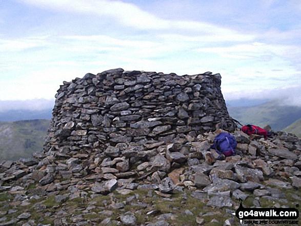 Walk Mam Sodhail walking UK Mountains in Glen Affric to Kintail  Highland    Scotland