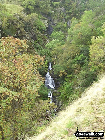 Cautley Spout Lower Falls