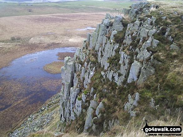 Peel Crag, Hadrian's Wall