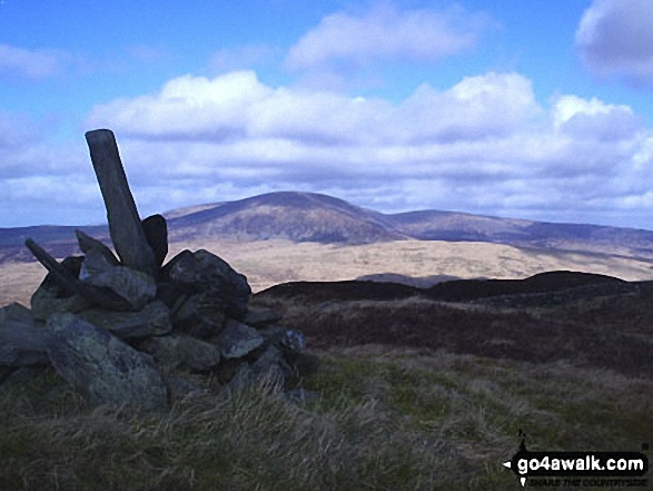 Walk Cairnsmore of Fleet walking UK Mountains in The Southern Uplands  Dumfries and Galloway    Scotland