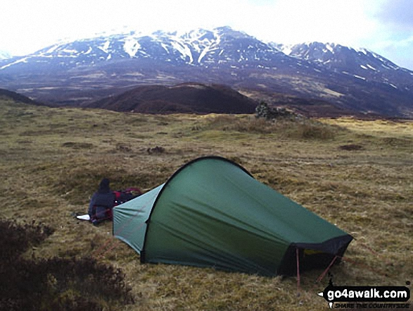 Wild Camping on Beinn a' Ghlo