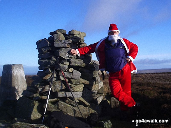 Santa bags Pike Rigg (Whitfield Moor)