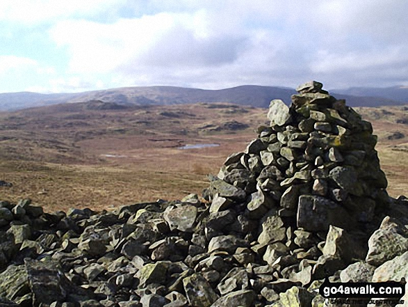 Seat Robert summit cairn