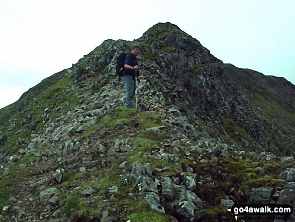 On Aonach Eagach (Stob Ghabhar)