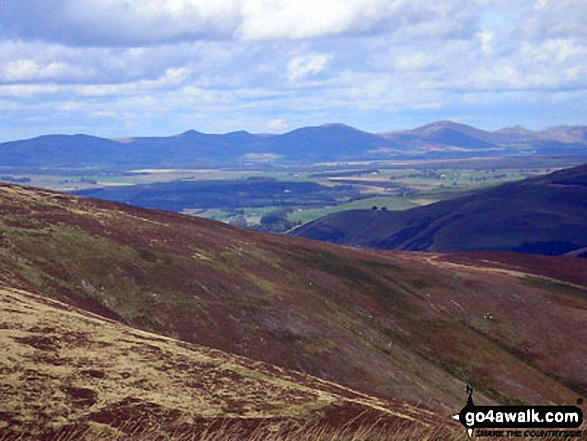 The Pentland Hills from Penvalla