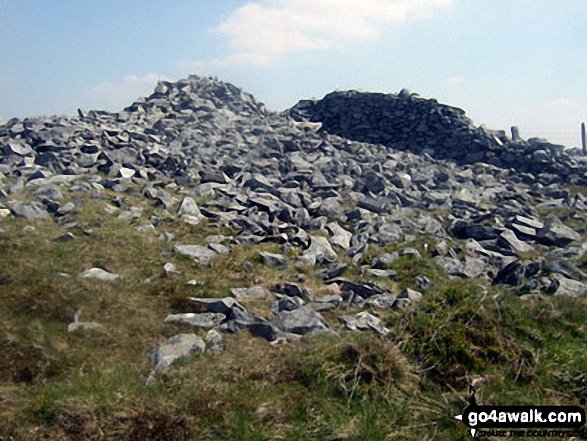 Y Garn (Pumlumon) summit cairn