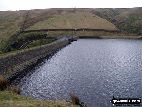 Upper Ogden Reservoir Dam