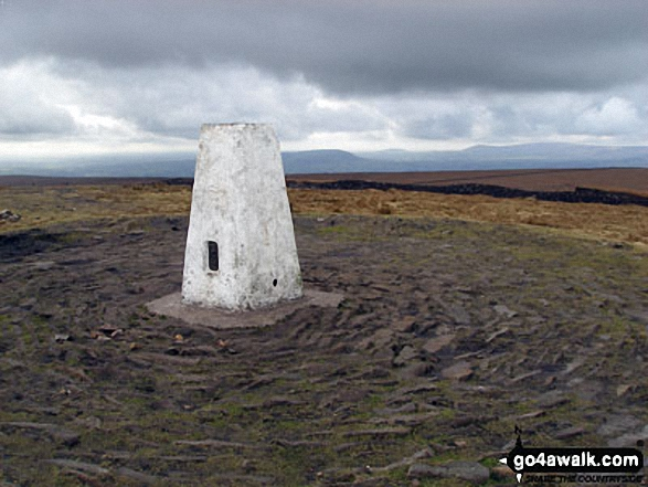 Pendle Hill (Beacon or Big End) summit