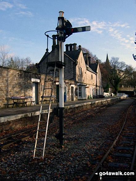 Alston Railway Station Signal