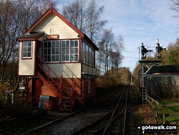 Alston Railway Station Signal Box