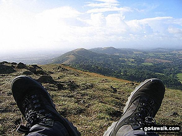 Walk wo100 Malvern (Worcestershire Beacon) from Upper Wyche - On the Malvern (Worcestershire Beacon)