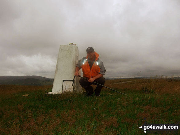 Me at Blake Mere (Merryton Low) Trig Point