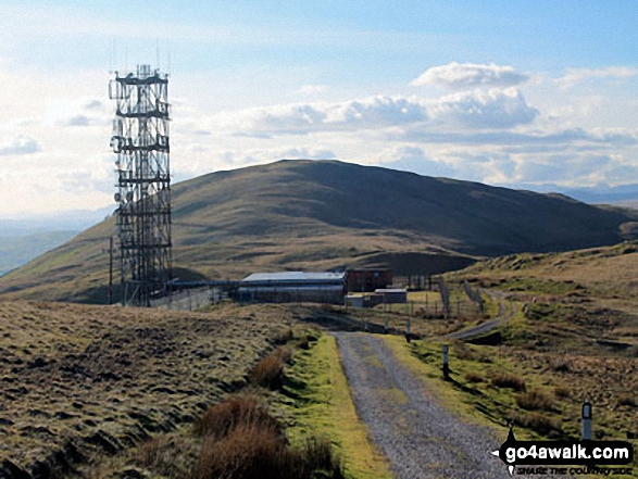 The Repeater Station on Grayrigg Forest with Whinfell Common in the background