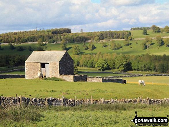 Stone stable near Helton village