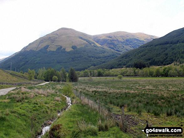 Stob Fear-tomhais (Ceann na Baintighearna) from Inverlochlarig