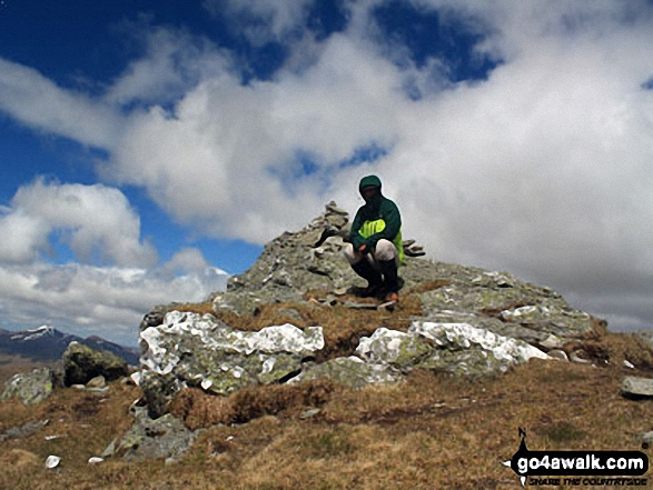 Me in my brand new Berghaus Men's Antelao 3 Layer GORE-TEX® Pro Jacket on the summit of Cruach Ardrain