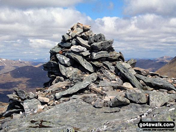 Cruach Ardrain summit cairn
