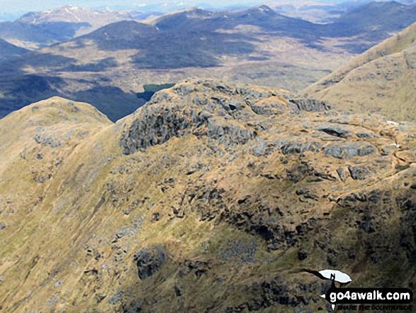 Stob Garbh (Cruach Ardrain) from the summit of Cruach Ardrain