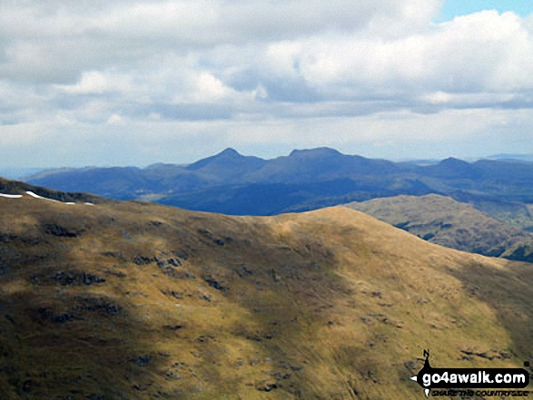 Ben Vorlich (Coire Garbh) and Stuc a'Chroin from the summit of Cruach Ardrain