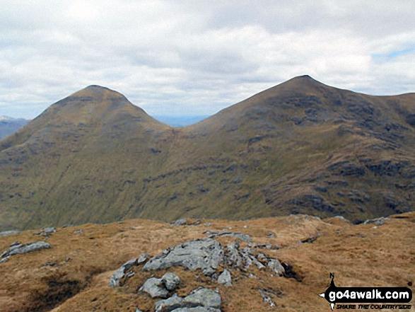 Ben More and Stob Binnein from Stob Garbh (Cruach Ardrain)