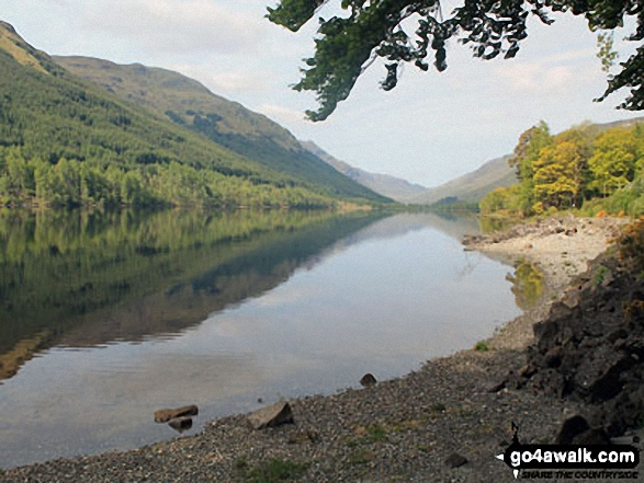 Looking south east down Loch Voil towards Inverlochlarig