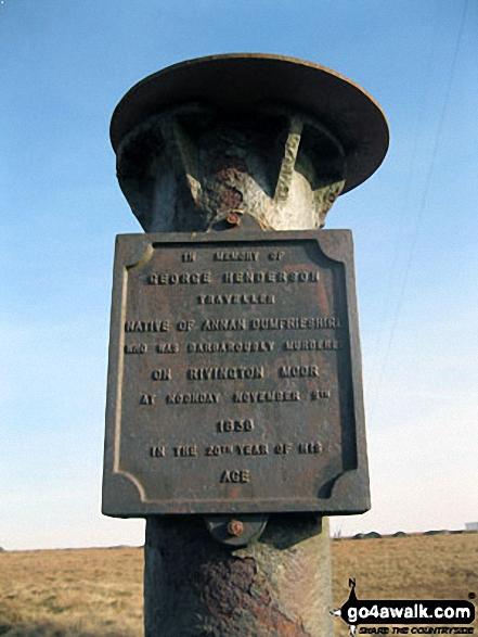 Memorial on Winter Hill (Rivington Moor)